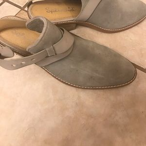 SPLENDID Booties Gray  Suede Size 8
